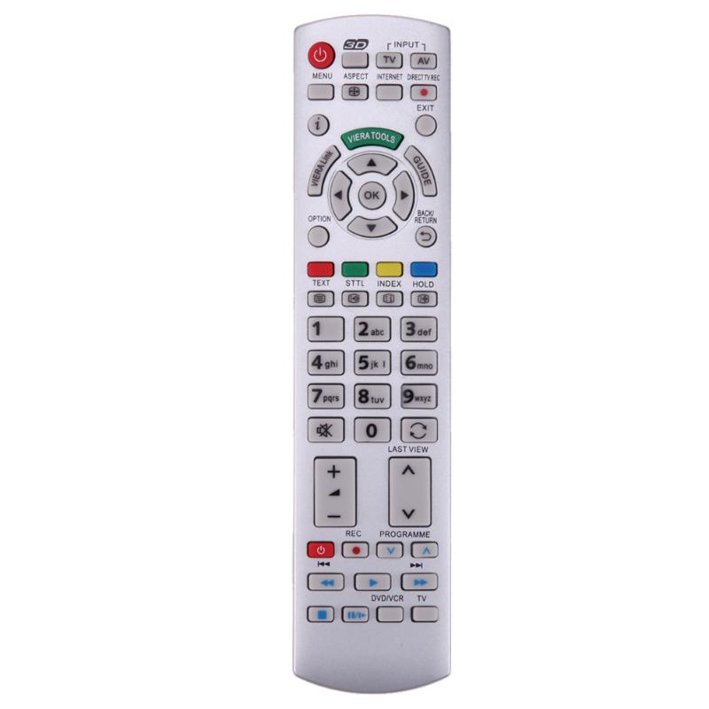 Remote Control Replacement for Panasonic N2QAYB000504 TV Remote Control for N2QAYB000673 N2QAYB000785 TX-L37EW30 N2QAYB000572