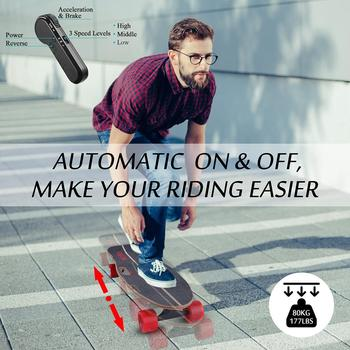 12 MPH Electric Skateboard With Remote Control