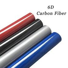 Vinyl-Film Carbon-Fiber-Film Car-Styling-Accessories High-Glossy Wrap Interior 20x50cm