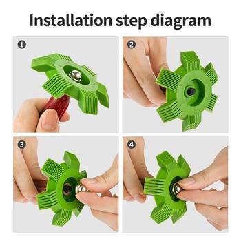 Radiator Comb Evaporator Air Conditioning Tools Fin Repair Comb A C Radiator Condenser Coil Comb Cleaning