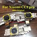 Câmera traseira original flexível, cabo para xiaomi cc9 pro mi9 pro, peças de reposição e conector do módulo de câmera frontal e traseira