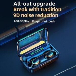 Image 4 - Tws Bluetooth Compatibel Oordopjes 2200Mah Opladen Doos Draadloze Hoofdtelefoon 9D Stereo Sport Waterdichte Oordopjes Headsets Met Microfoon