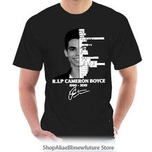 T Shirt Cameron Boyce Signature 1999 Black Cotton Men S-6XL Kawaii 4645Y