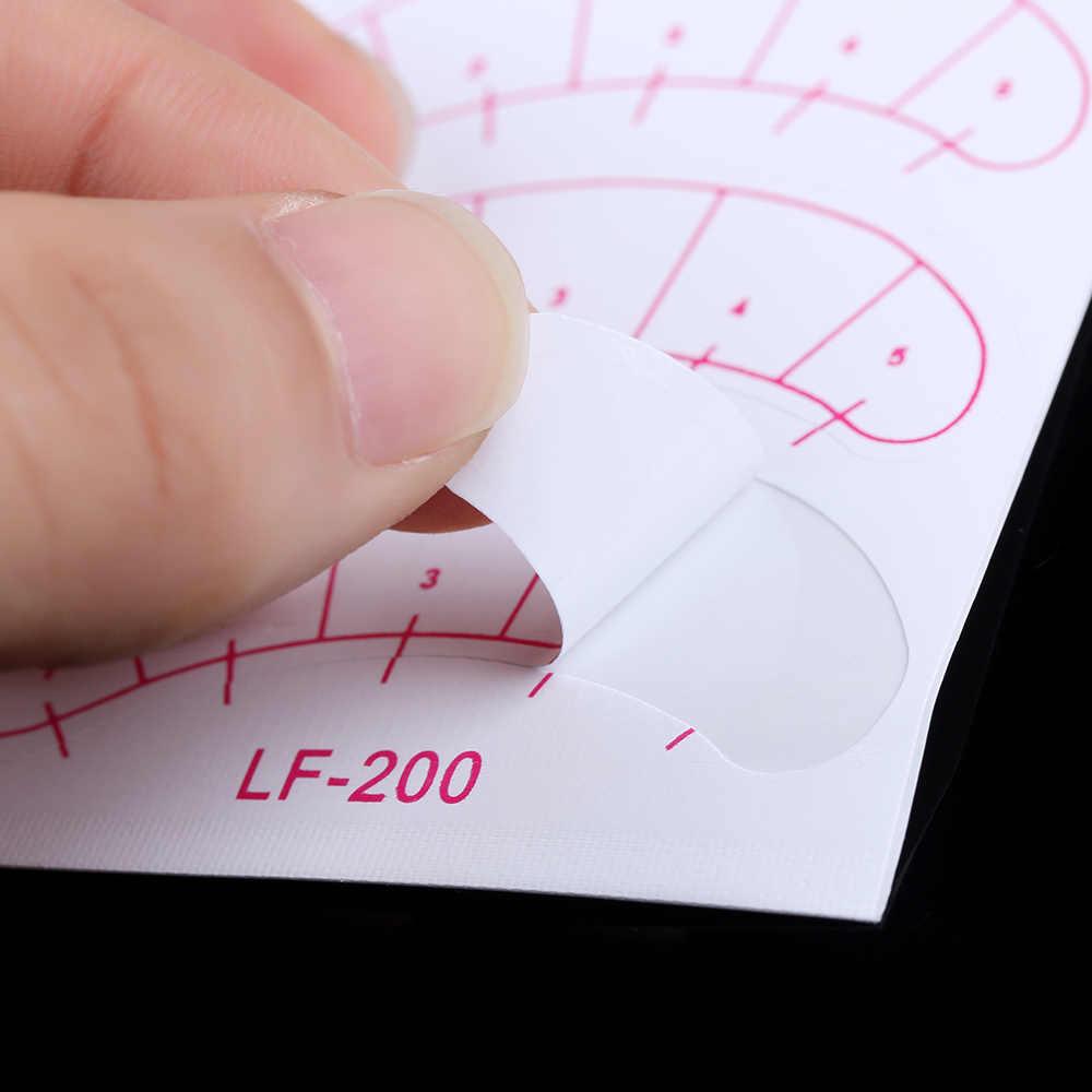 14PCS Enten Wimper Schaal Papier Pad Training Patch Onder Eye Tips Lash Cosmetische Extension Nuttig Eye Make-Up Accessoire Gereedschappen