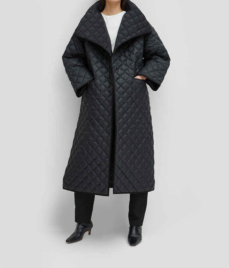 Toteme Annecy Quilted Coat