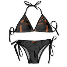 L'institut (Logo orange)-Fallout 4 ensemble Bikini femme classique licou(China)