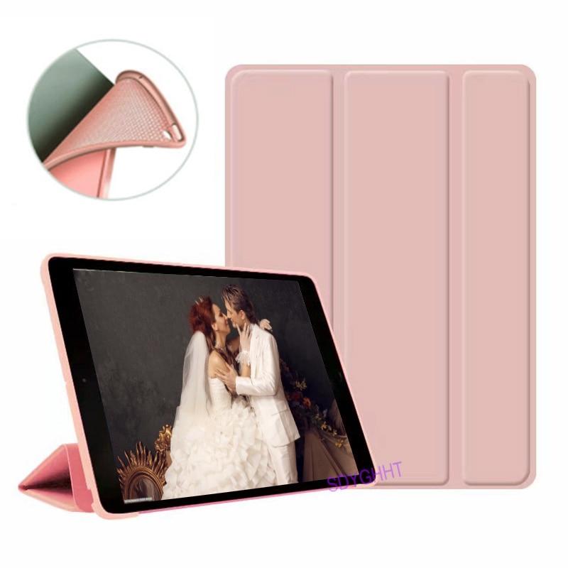 Rose Gold 2 DarkCyan 2020 case For iPad 10 2 inch 8th 7th Generation model A2270 A2428 Silicone soft bottom