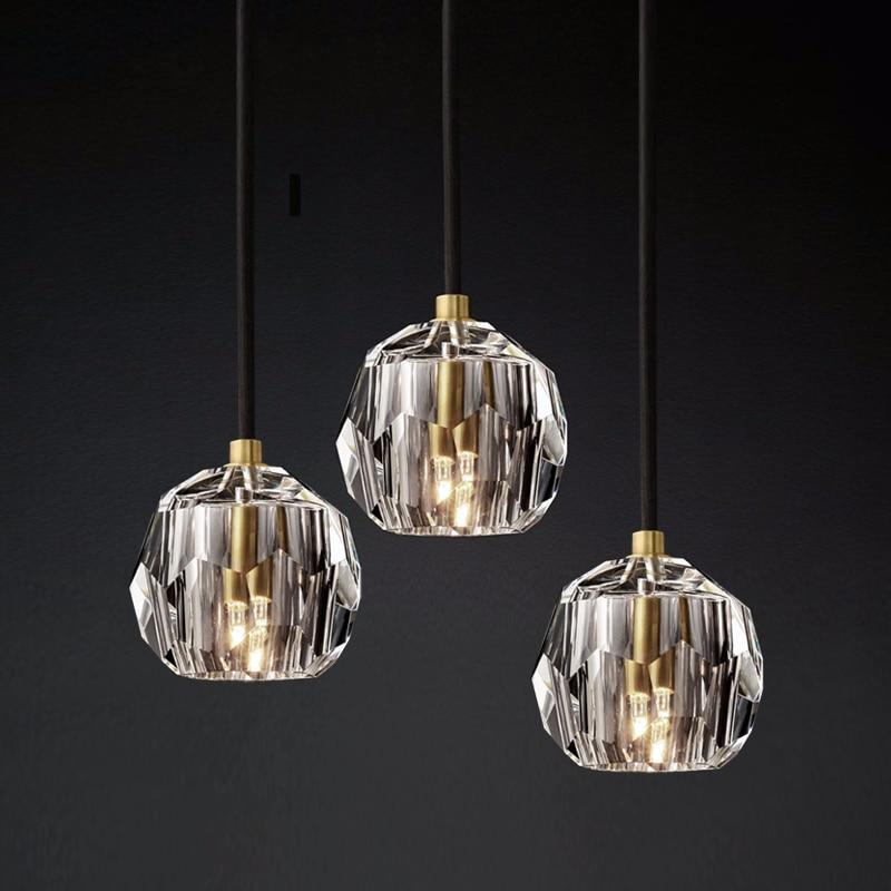 Crystal Living Room Pendant Lights