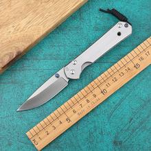 Chris reeve CR D2 stal wysokiej jakości odkryty przenośny nóż taktyczny składany camping wycieczka defensywne kieszonkowe noże zestawy upominkowe tanie tanio NoEnName_Null Maszyny do obróbki drewna STAINLESS STEEL Składany nóż