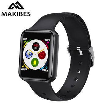 Makibes SN72 Bluetooth smartwatch 60days Standby Blood Pressure smart watch men for apple huawei Black Friday Christmas present 1