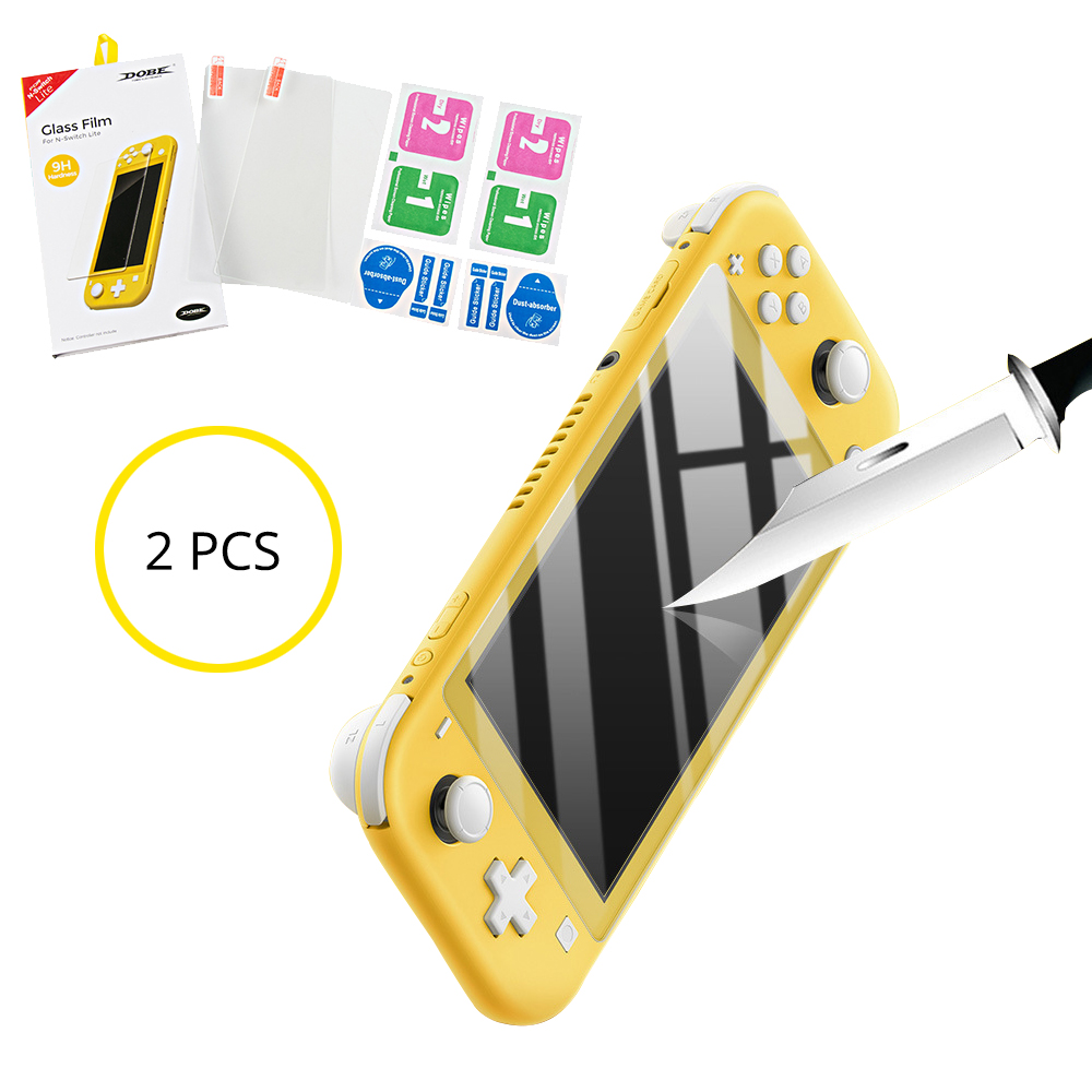 Tempered for Nintend Switch Lite Mini NX Glass Ultra Clear Full HD Screen Protective Film Surface