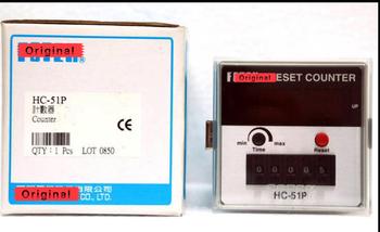 HC-51P licznik 5 cyfr 100 nowe i oryginalne oryginalne tanie i dobre opinie Uniwersalny Przewód Sterowania