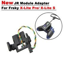 Adaptador de módulo JR para Frsky xlite pro/ xlite s y Crossfire/ R9M 2019/iRangeX IRX4 Jumper multiprotocolo TX, módulo/DJT/XJT