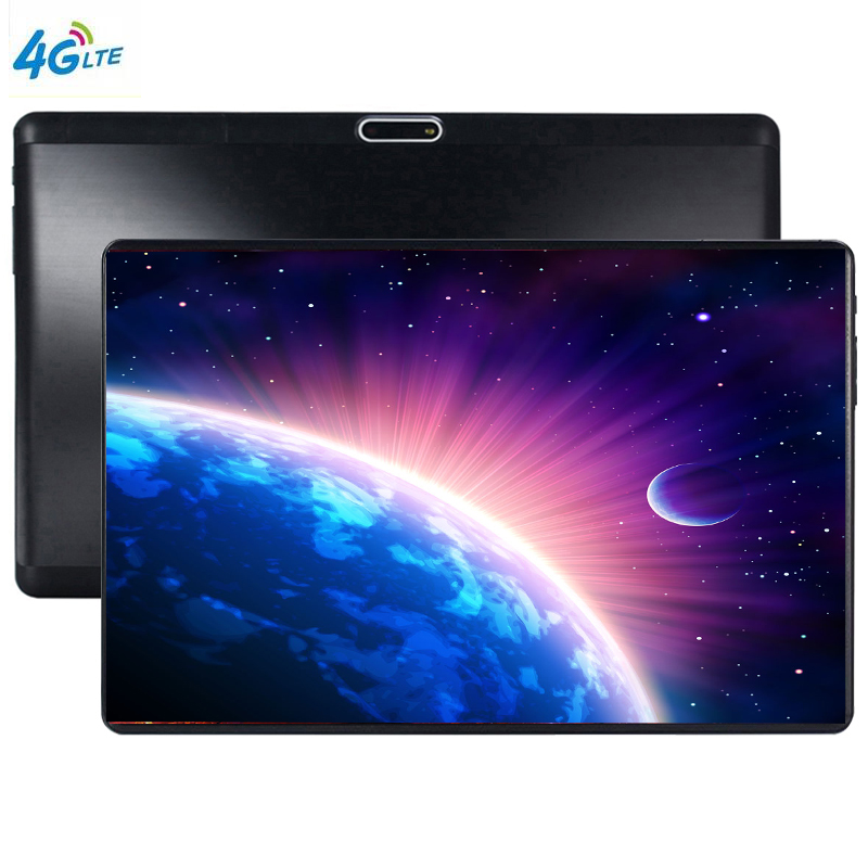 2.5D 10 Inch Tablet PC 10 Core 6GB RAM 12GB ROM Dual SIM Unlocked 3G WiFi 4G LTE Bluetooth Android 9.0 Tablets 10.1 The Tablet