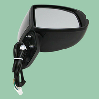 CITALL 5 Wire Car Right Passenger Side Rearview Wing Mirror Car Accessories Fit For Honda Fit Jazz GK5 2014 2016 2017 2018 2019