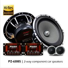 Speakers Tweeter Hifi 2-Way-Component Puzu-Upgrade Fully-Midrange Deep-Bass Car-Audio