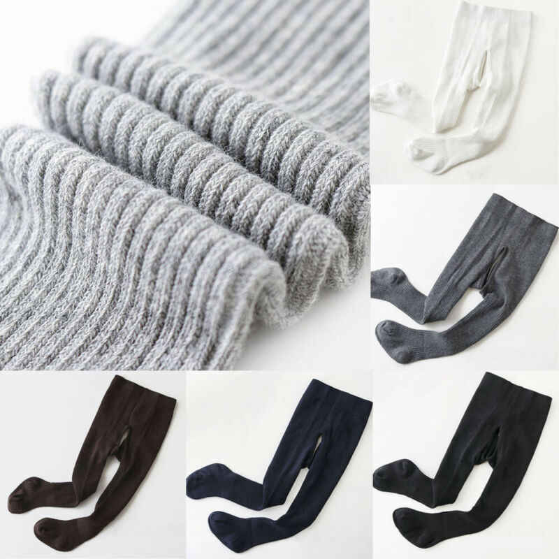 Winter Warm Baby Stockings Tights Toddler Kid Baby Boy Girls Cotton Knee High Tights Leg Warmer Stockings For 0--4T