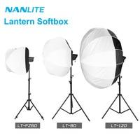 NanGuang Lantern Softbox LT FZ60 LT 80/120 Bowens mount for Nanlite Forza 60 60B 200W 300 500 Photography light accessories