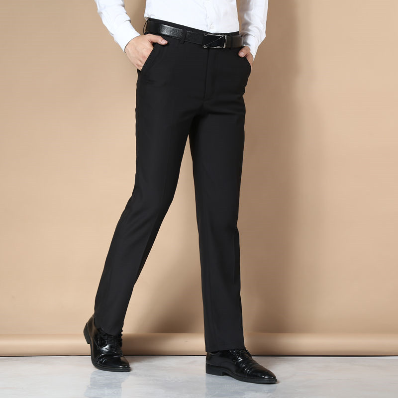 Suit Pants Men Fashion Dress Pants Social Mens Dress Pants Black Formal Suit Pants Business Male Casual Men Trouse