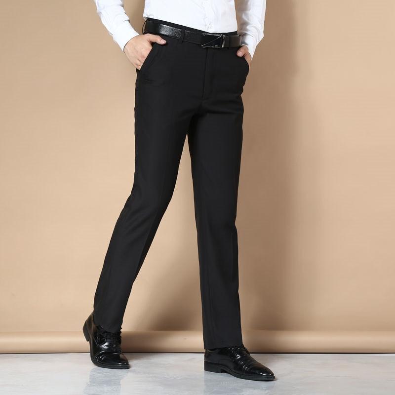 Suit Pants Men Fashion Dress Pants Social Mens Dress Pants Black Formal Suit Pants Business Male Casual Men Trouse