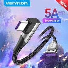 Vention 5A usbタイプcケーブルメイト30 P40 P30過給40ワット急速充電3.0 scp高速充電充電器USB-Cケーブル