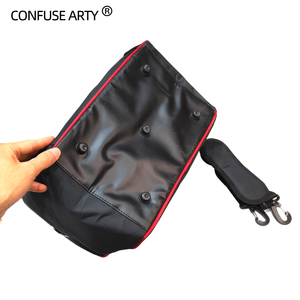 Image 5 - Professional Scissor Bag Salon Hairdressing Tool Multi function Storage Bags Hair Scissors Tool Makeup Case with Strip