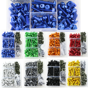 For BMW R1150R R1200R R1200RS R1250RT R1200RT R1200ST R1200GS LC/ADV Motorcycle CNC Aluminum Full Fairing Bolts Kit Screws Nuts