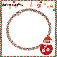 Diaspore Sterling Silber Armband für Frauen Edlen Schmuck Hochzeit Armband 30 Karat Erstellt Zultanite S925 für Frauen Hochzeit