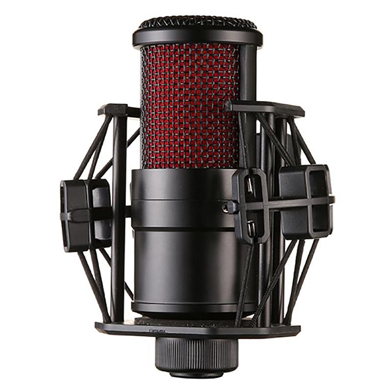 Комплект микрофона с o кабелем ударопрочный зажим живой широковещательный