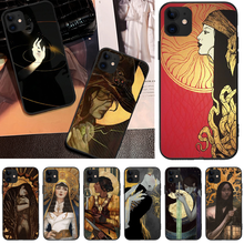 OFFeier Love and hope girl DIY Luxury Phone Case For iPhone 5 6 6S 7 8 plus X XS XR XS MAX 11 11 pro 11 Pro Max offeier love and hope girl diy luxury phone case for iphone 5 6 6s 7 8 plus x xs xr xs max 11 11 pro 11 pro max
