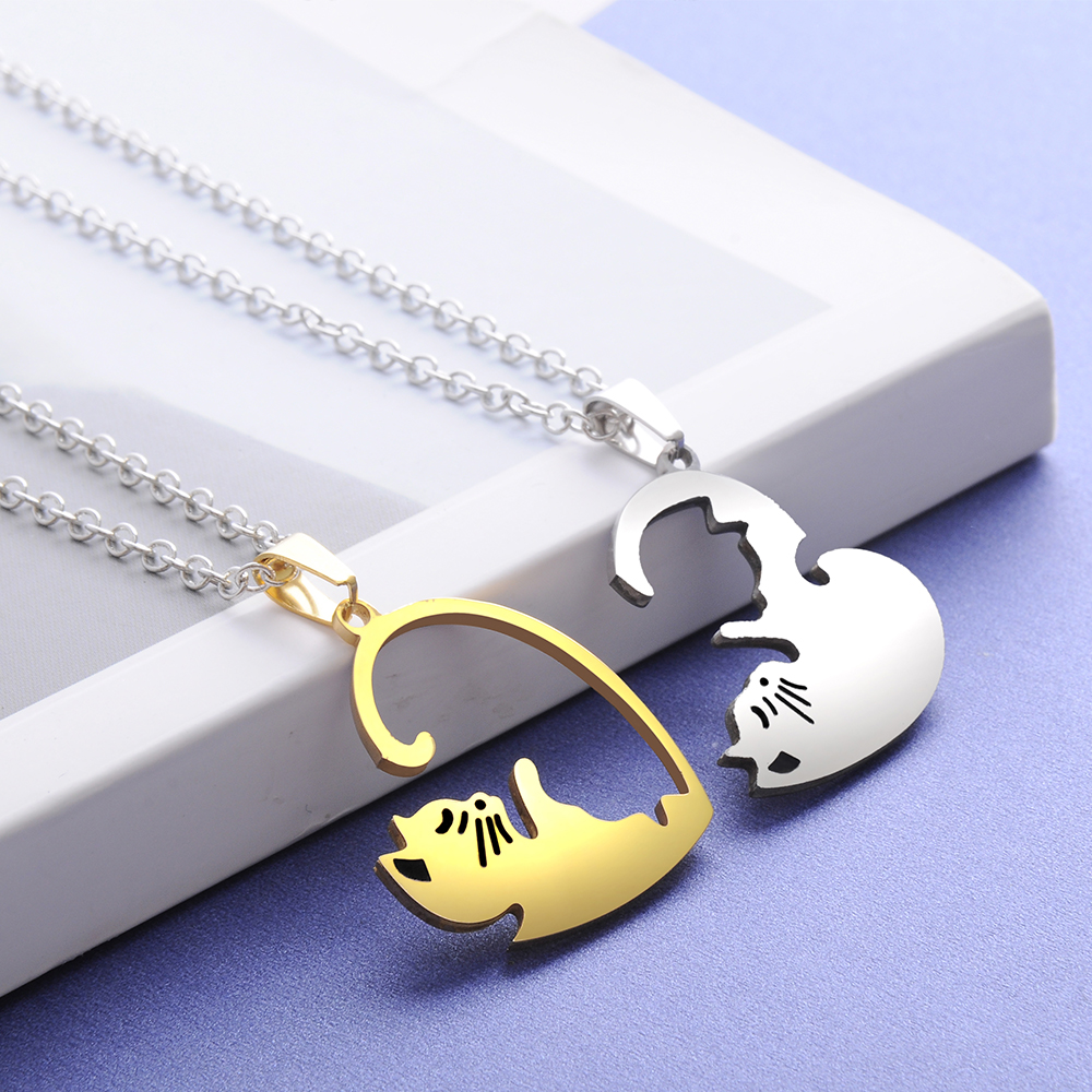 Cat Pendant Set