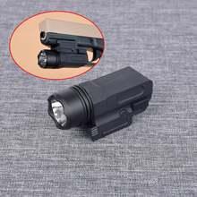 Тактический военный светодиодный пистолет вспышки светильник