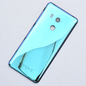 Image 3 - Original For HTC U11 Plus Back Battery Cover 2Q4D200 Rear Glass Door Housing Case For HTC U11 Plus Cover+Camera Lens Replacement