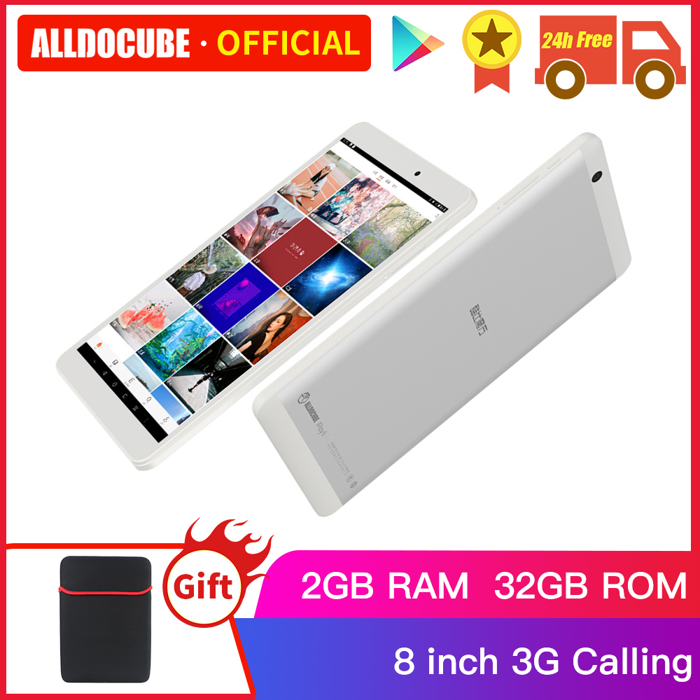Alldocube Iplay8 Pro 8 Inch Tablets Android 9.0 2GB RAM 32GB ROM MTK MT8321 Quad Core 3G Calling Tablet PC 800*1280 IPS
