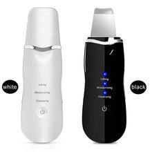 Machine de nettoyage en profondeur à ultrason pour la peau, instrument cosmétique à vibrations, épurateur, peeling