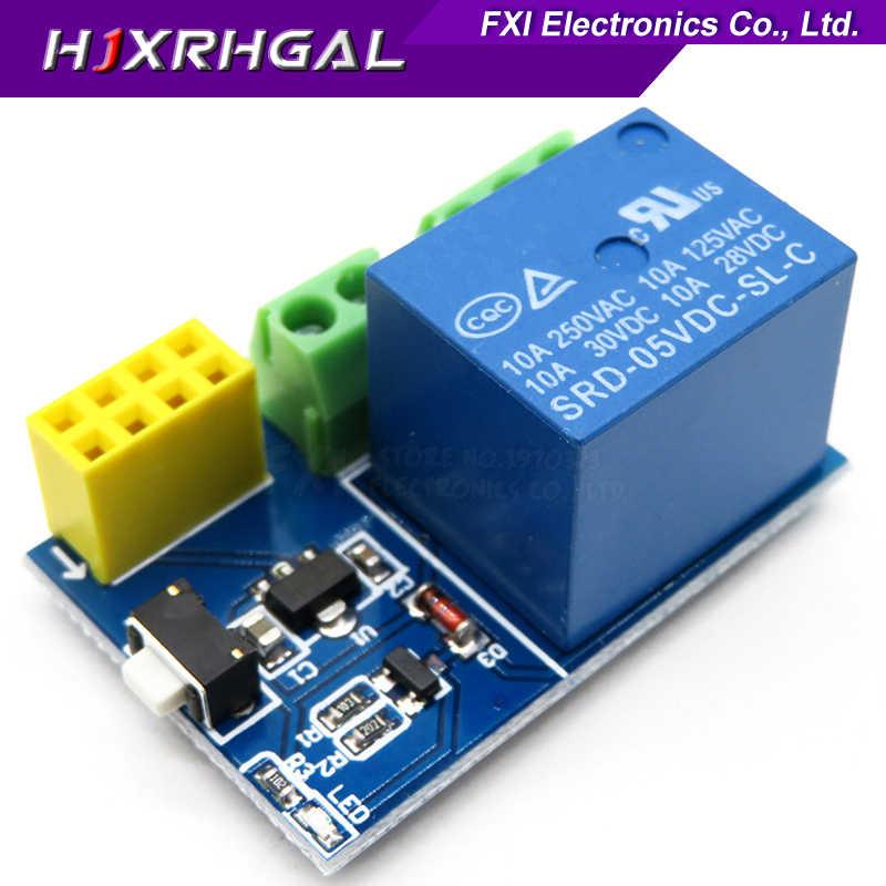 ESP8266 ESP-01 ESP-01S DHT11 czujnik temperatury i wilgotności moduł ESP8266 WIFI NodeMCU inteligentnego domu odległość 400m IOT zestaw do samodzielnego montażu