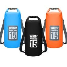 Backpack Waterproof-Bag Beach-Ocean-Bag Rafting Dry-Sack-River Impermeable Water-Resistant