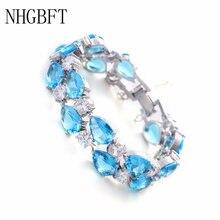 Браслеты nhgbft для женщин ювелирные украшения невесты цвета