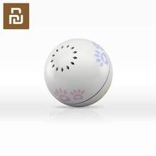 Petoneer interruptor inteligente de vibración con gestos de bola para mascotas, caja de hierba gatera integrada, desplazamiento Irregular, artefacto divertido para gatos