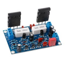 цена на 2SC5200+2SA1943 Dual DC 35V 100W Mono Channel HIFI Audio After Class Amplifier