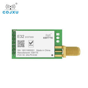 Image 1 - Lora 915MHz SX1276 RF TCXO E32 915T20D โมดูลไร้สายแบบไร้สาย ebyte ยาว IOT UART 915MHz เครื่องส่งสัญญาณ RF