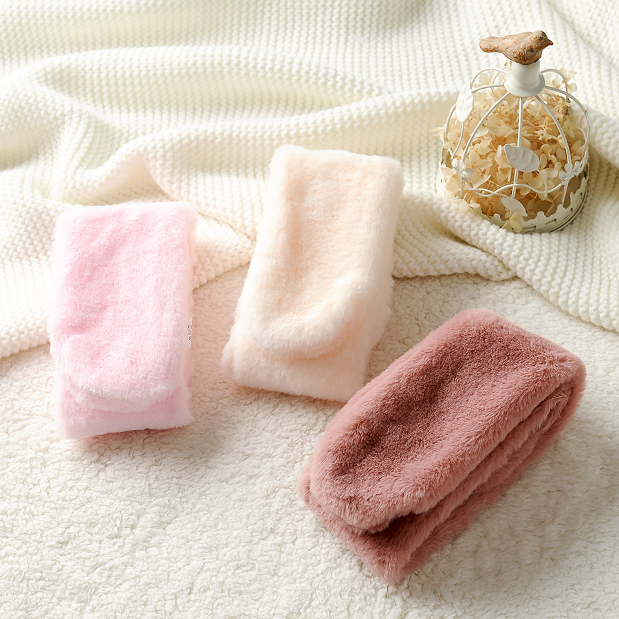 Light Board Children Autumn & Winter Faux Rabbit Fur Girls' Scarf Warm Korean-style BOY'S Scarf