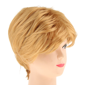 Fashion Synthetic Wig Blonde M