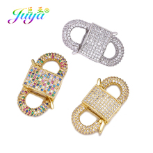 Juya DIY Pendant Locket Handmade Decorative Screw Lock Clasps Accessories For Needlework Fastener Hanging Chains Jewlery Making