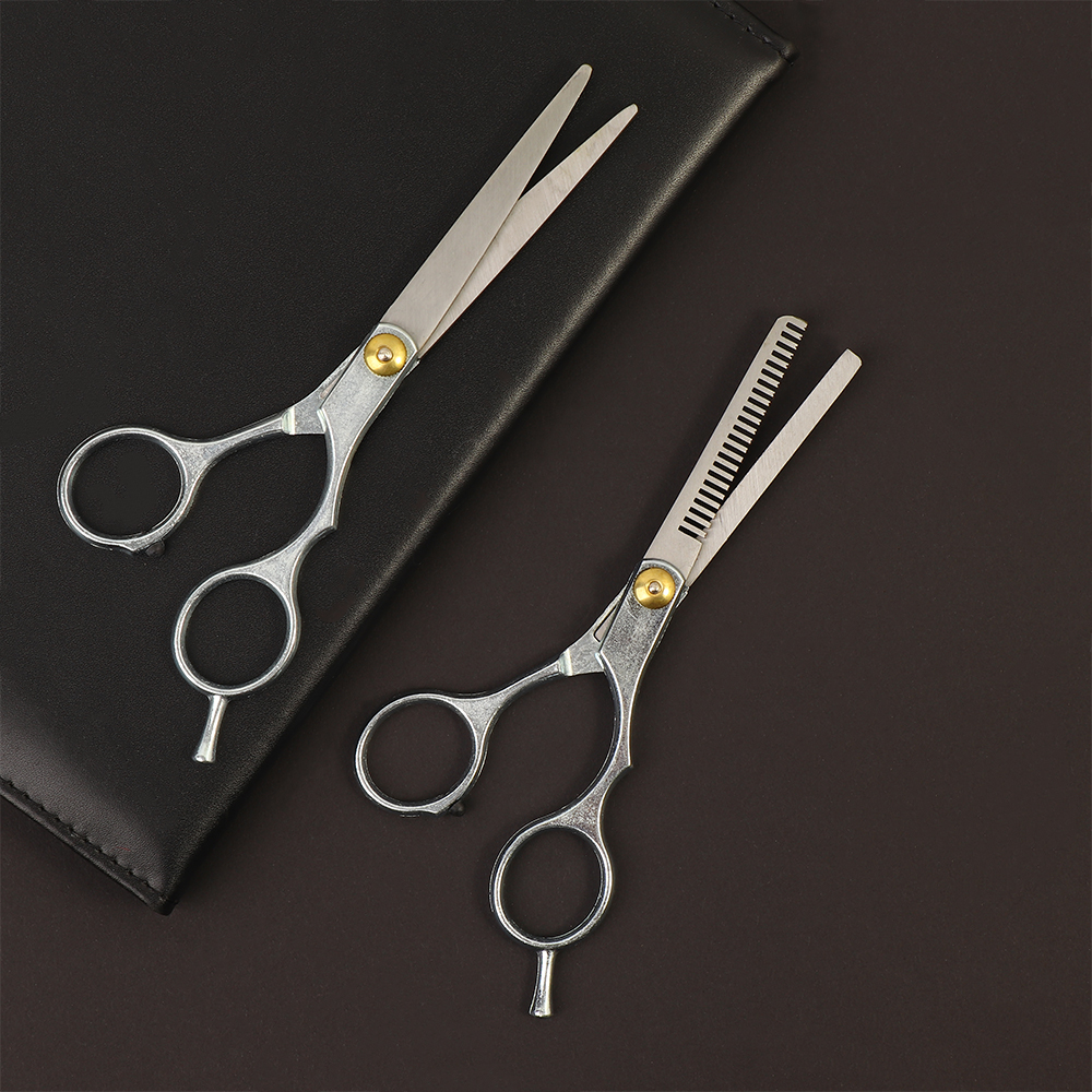 Profesyonel 6 inç japonya 4cr saç makas kesim saç kesme salon makas makas berber inceltme makasları kuaförlük makas