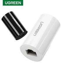 Ugreen – adaptateur Ethernet 8P8C femelle vers femelle, connecteur RJ45 Anti-tonnerre, Extension réseau pour MacBook et iPad