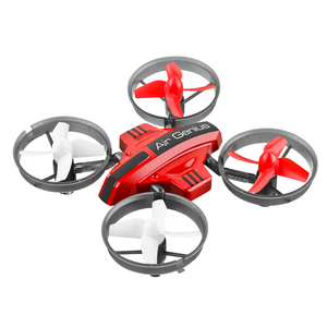 Three-in-one land and air remote control drone Rc mini quadrotor glider fixed wing children's toy gift