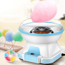 Cotton Candy Machine Children's Home Automatic Cotton Candy Machine Handmade Mini Fancy Color Sugar ce approved stainless steel cart spinning mini cotton candy machine many flavour professional cotton candy machine