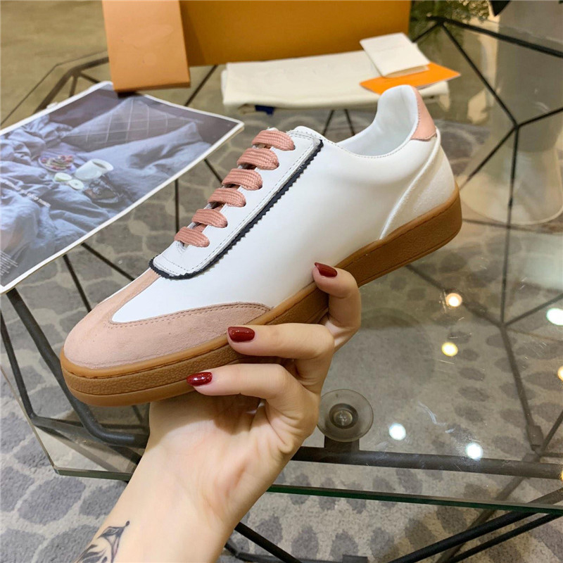 2020 Spring New Casual Shoes Women Sneakers Real Leather Fashion Brand Female Zapatos De Mujer Ladies White Footwaer Breathable