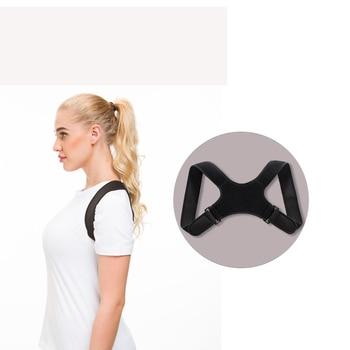 Corrector de postura para hombre y mujer, cinturón de soporte para espalda, corsé de vendaje para hombro, ortopedia para espalda, postura de la columna vertebral, Corrector para el dolor de espalda